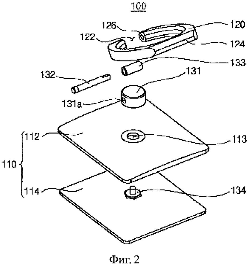 Аксессуар и устройство крепления мобильного устройства
