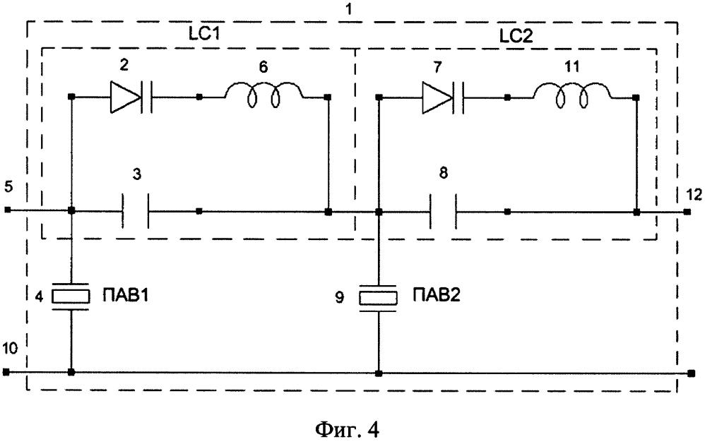 Лестничный реконфигурируемый фильтр