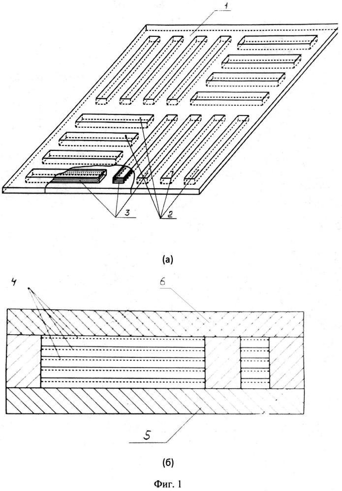 Радиопоглощающее покрытие на основе дифракционной решетки