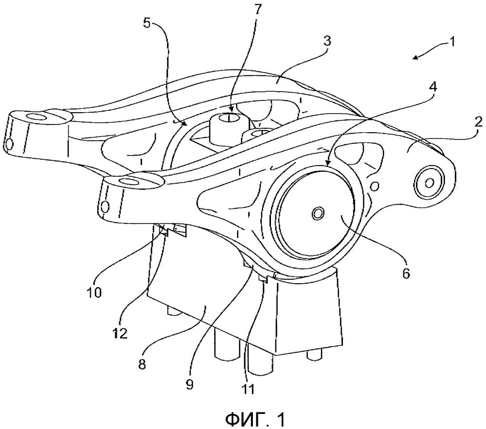 Опора клапанного коромысла для привода клапанов двигателя внутреннего сгорония