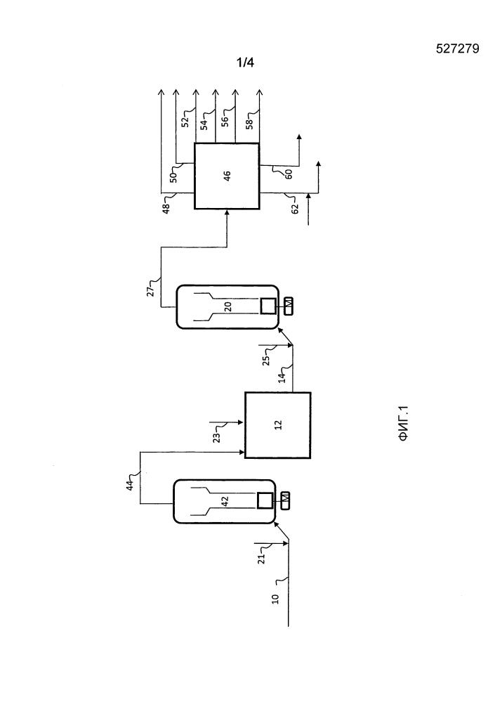 Объединение гидрокрекинга остатков и гидроочистки