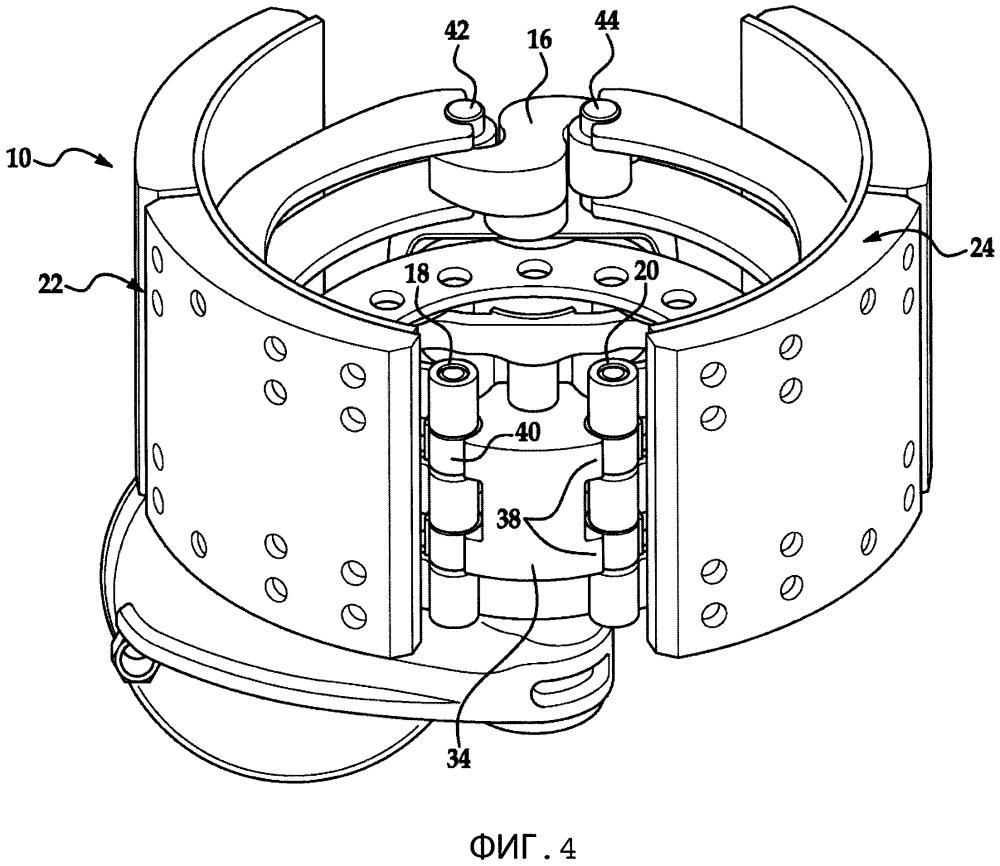 Тормозная колодка для барабанного тормоза и узел тормоза