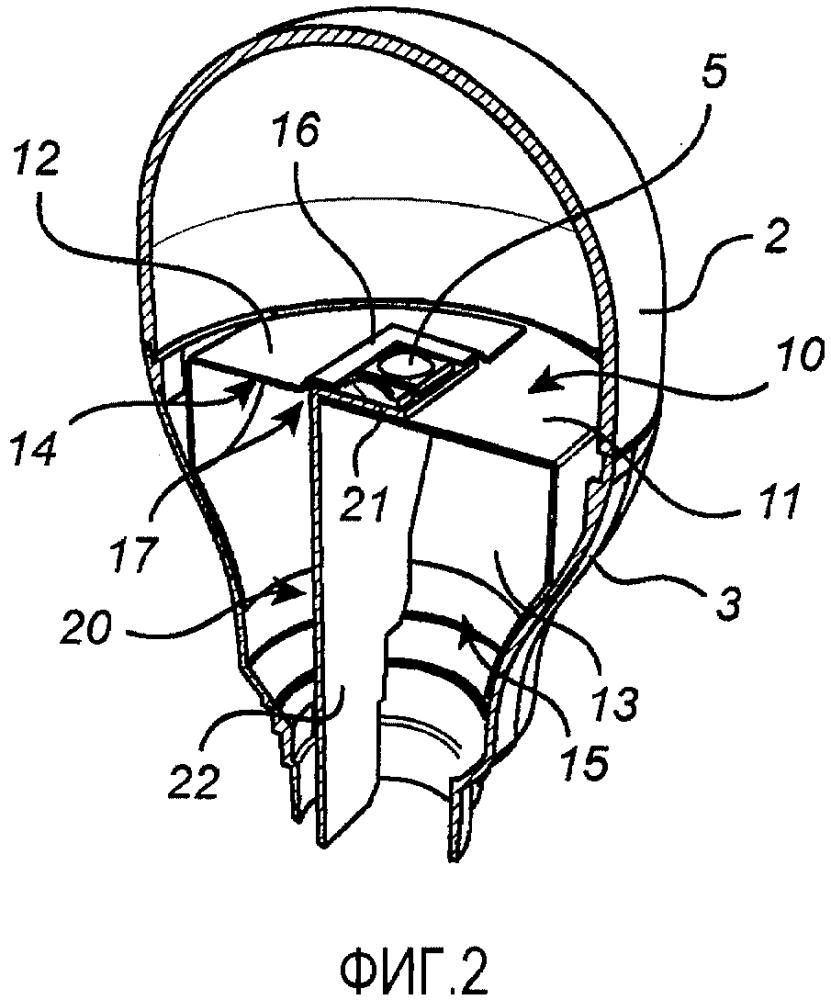 Световое устройство, содержащее конструкцию теплоотвода