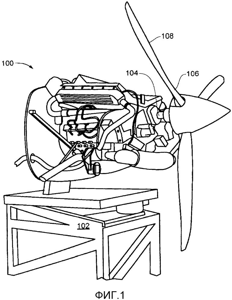 Авиационный дизельный двигатель