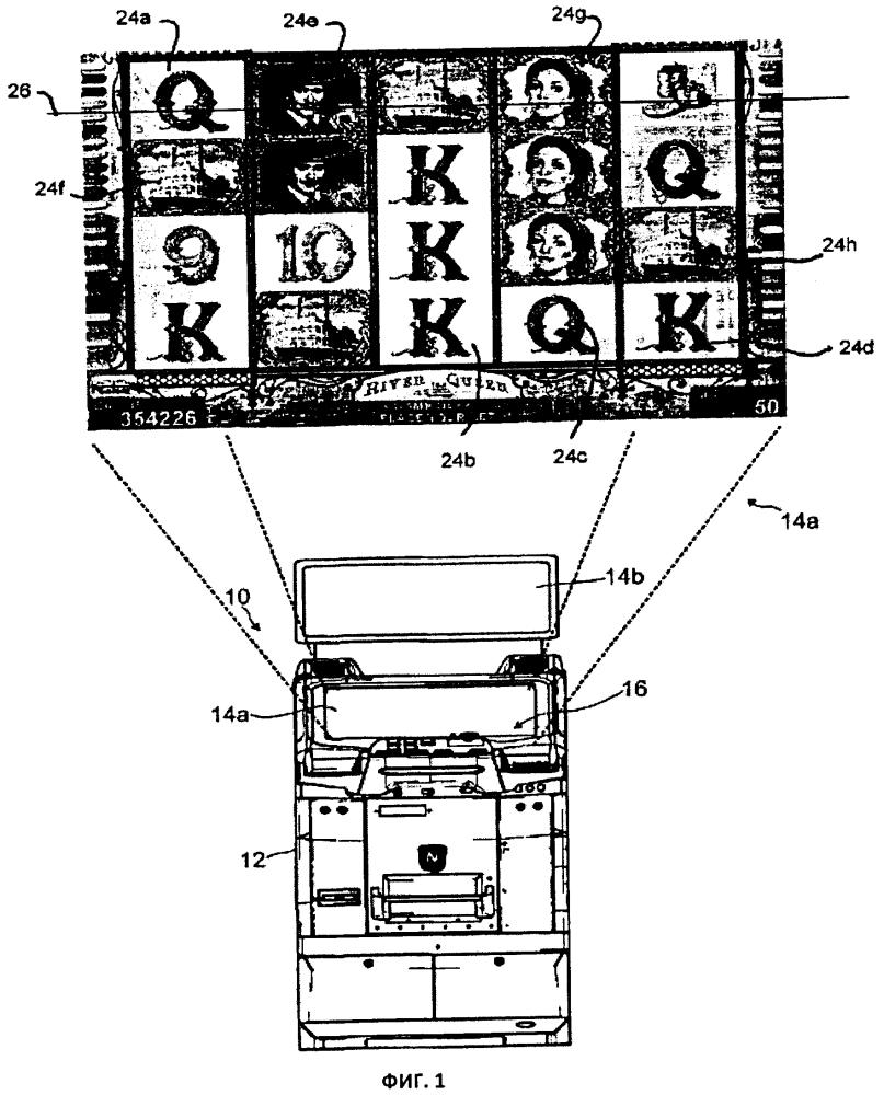 Игровой автомат, в котором предусмотрены перемещающиеся дикие символы
