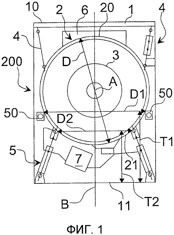 Стиральная машина с усовершенствованным амортизирующим устройством