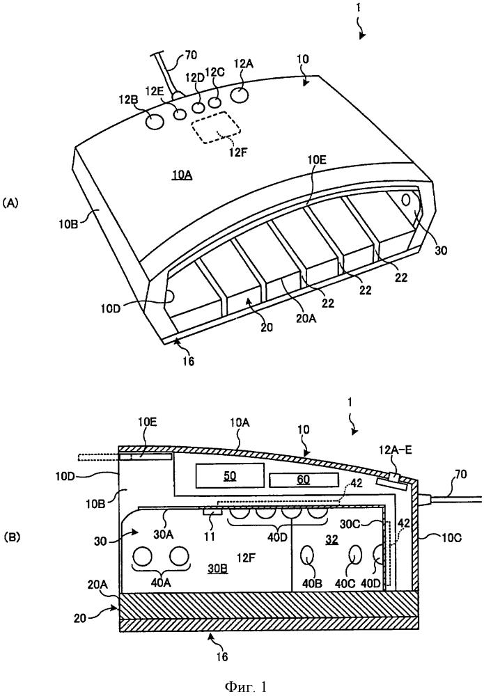 Светоизлучающий аппарат для смолы ногтей