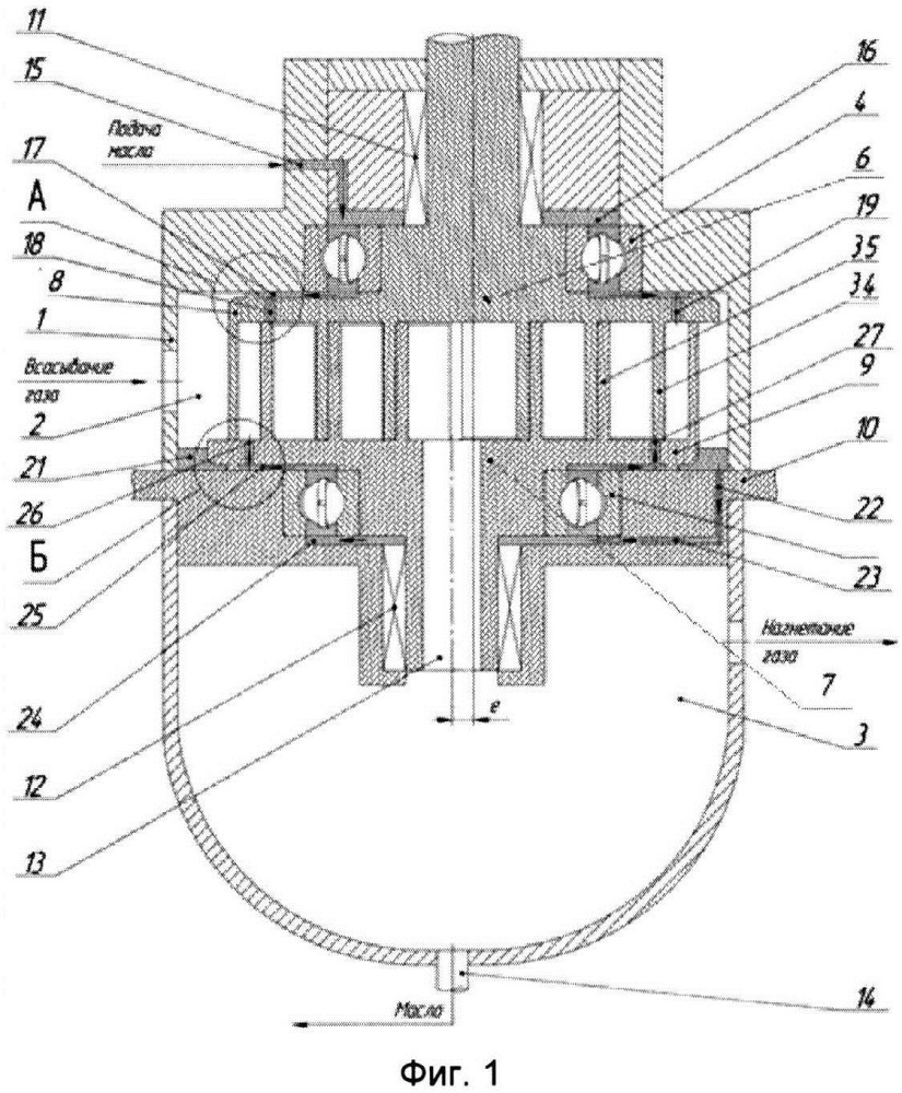 Спиральный компрессор и способ его работы