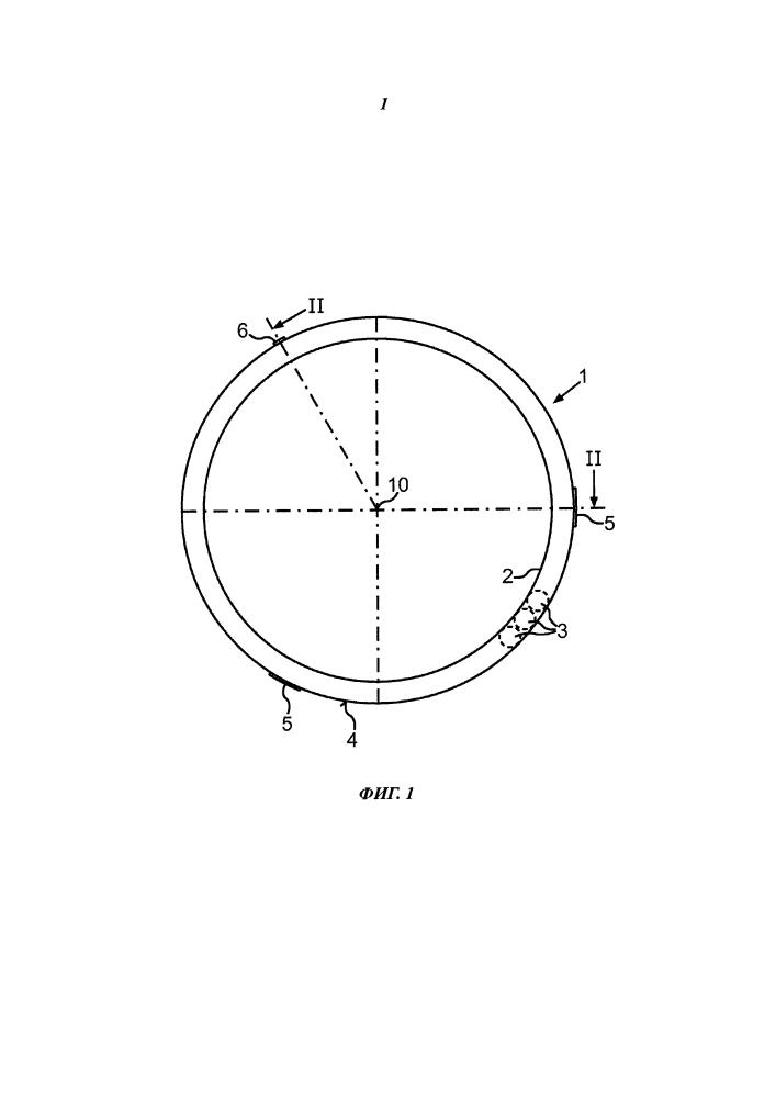 Конструкция бытового прибора, устройство компенсации дисбаланса и способ крепления устройства компенсации дисбаланса к барабану для белья
