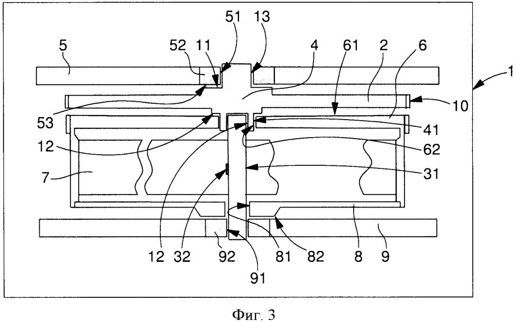 Двигатель часового механизма