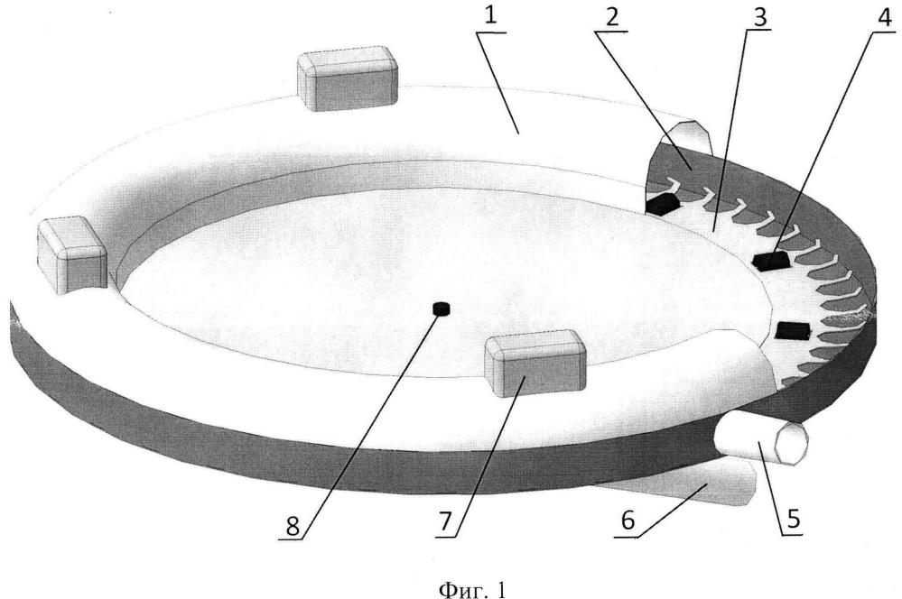 Сверхвысокочастотная установка с тороидальным резонатором и с ячеистым ротором для термообработки сырья