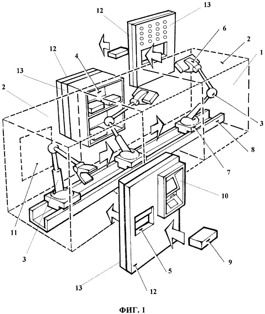 Роботизированное устройство для обслуживания клиентов
