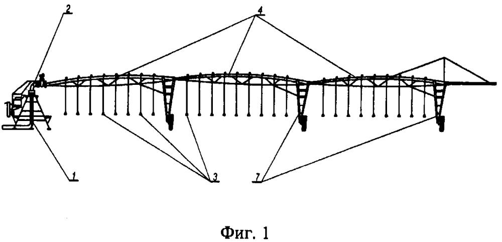 Электрифицированная многосекционная дождевальная машина кругового действия