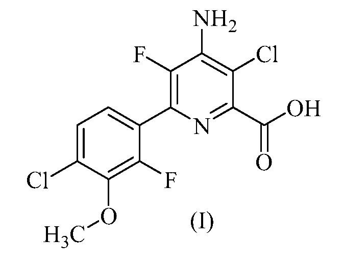 Гербицидные композиции, содержащие 4-амино-3-хлор-5-фтор-6-(4-хлор-2-фтор-3-метоксифенил)пиридин-2-карбоновую кислоту или ее производное и гербициды, ингибирующие микротрубочки