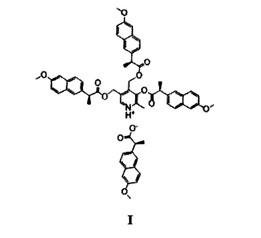 Нестероидное противовоспалительное средство на основе напроксена, обладающее низкой гастротоксичностью