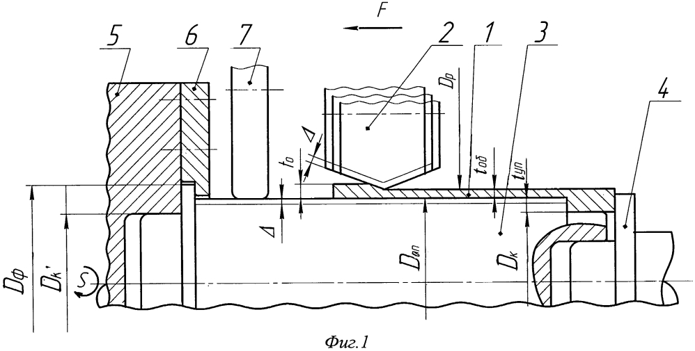 Деформирующий инструмент ротационной вытяжки осесимметричных оболочек из высокоуглеродистых и легированных сталей