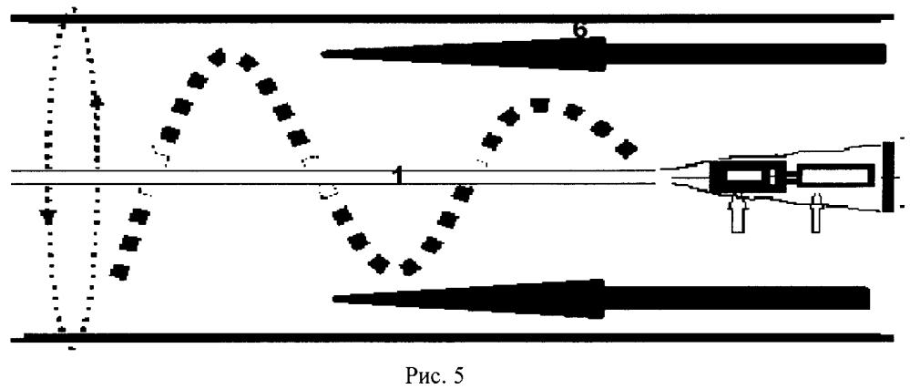 Колебательный водометный движитель, содержащий рабочий огран по принципу биения хлыста