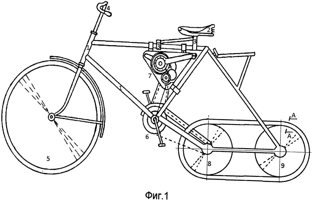 Велосипед (самокат) повышенной проходимости
