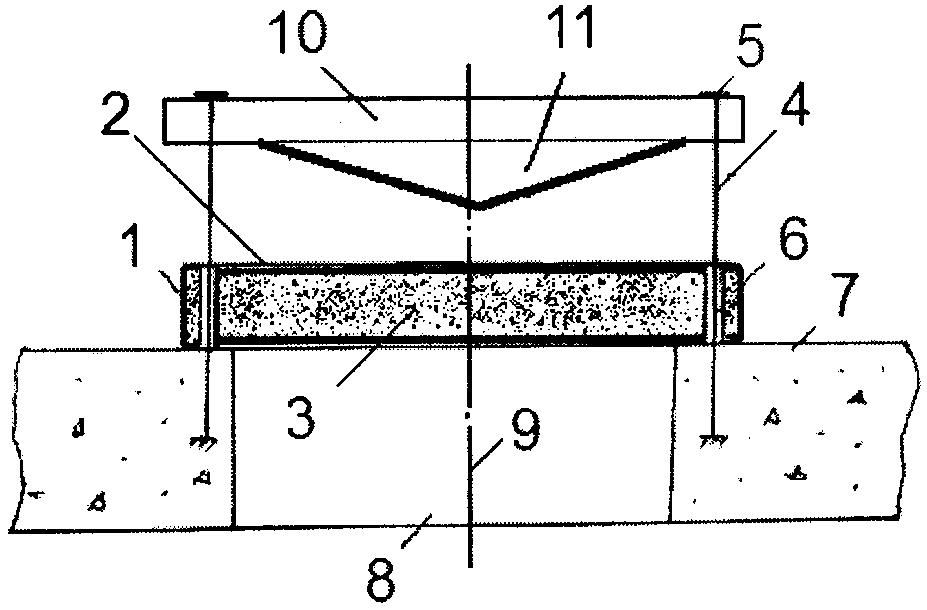 Противовзрывная панель с буферным устройством