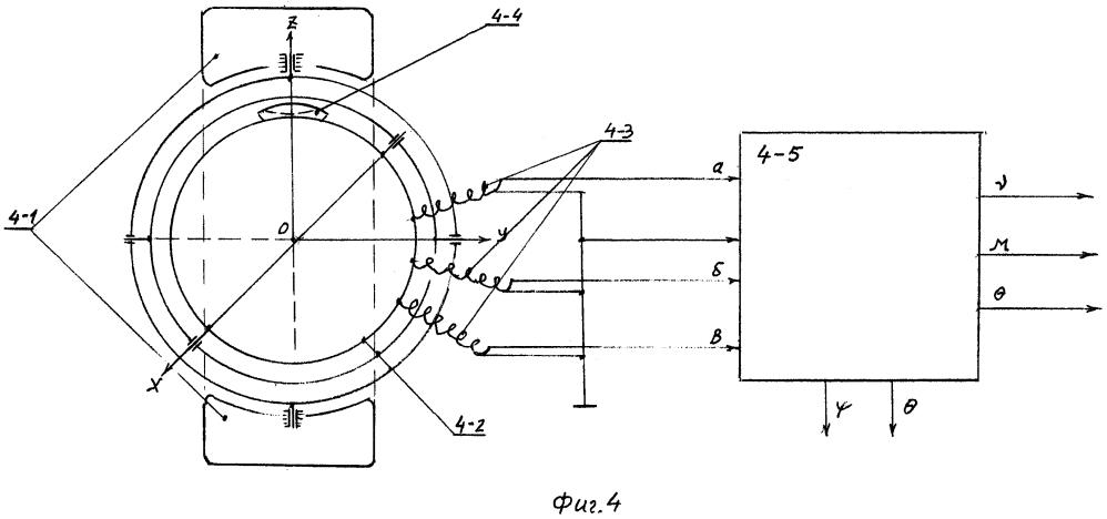 Гироскопический датчик угловых положений объекта с шестью степенями свободы