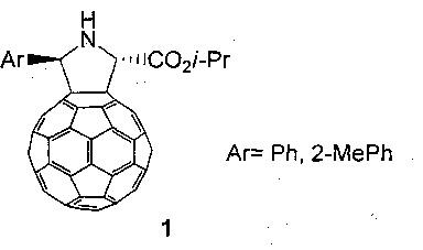 Способ селективного получения изо-пропил 5-арил-1н-пирролидино[3,4:1,9](с60-ih)[5,6]фуллерен-2-карбоксилатов