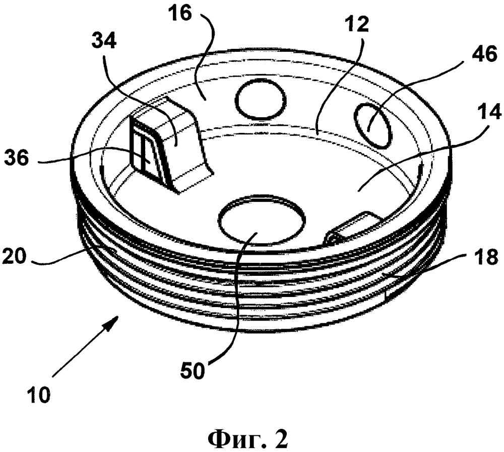 Металлическая шпунтовая заглушка с пластиковым защитным слоем