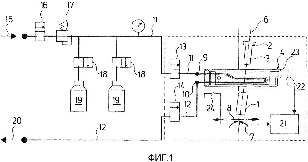 Устройство для регистрации частиц в жидкости