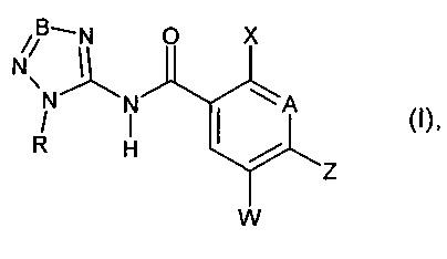 5-фенилзамещенные n-(тетразол-5-ил)- и n-(триазол-5-ил)-амиды арилкарбоновых кислот, а также их применение в качестве гербицидов