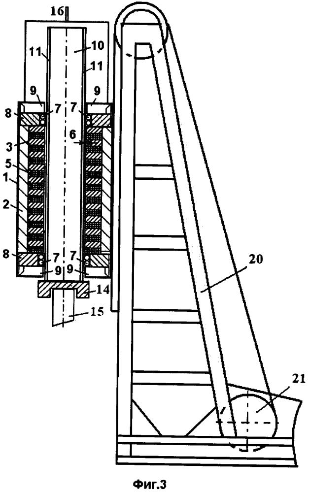 Электромагнитный молот с приводом от линейного электрического двигателя