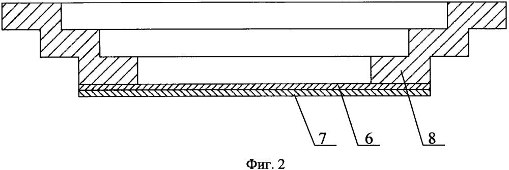 Фотокатодный узел вакуумного фотоэлектронного прибора с полупрозрачным фотокатодом на основе нитридных соединений галлия