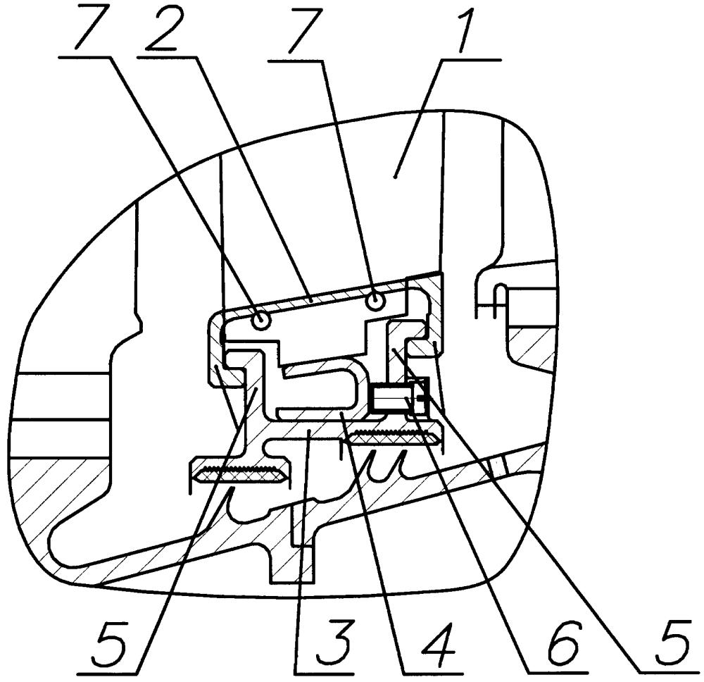 Спрямляющий аппарат компрессора газотурбинного двигателя