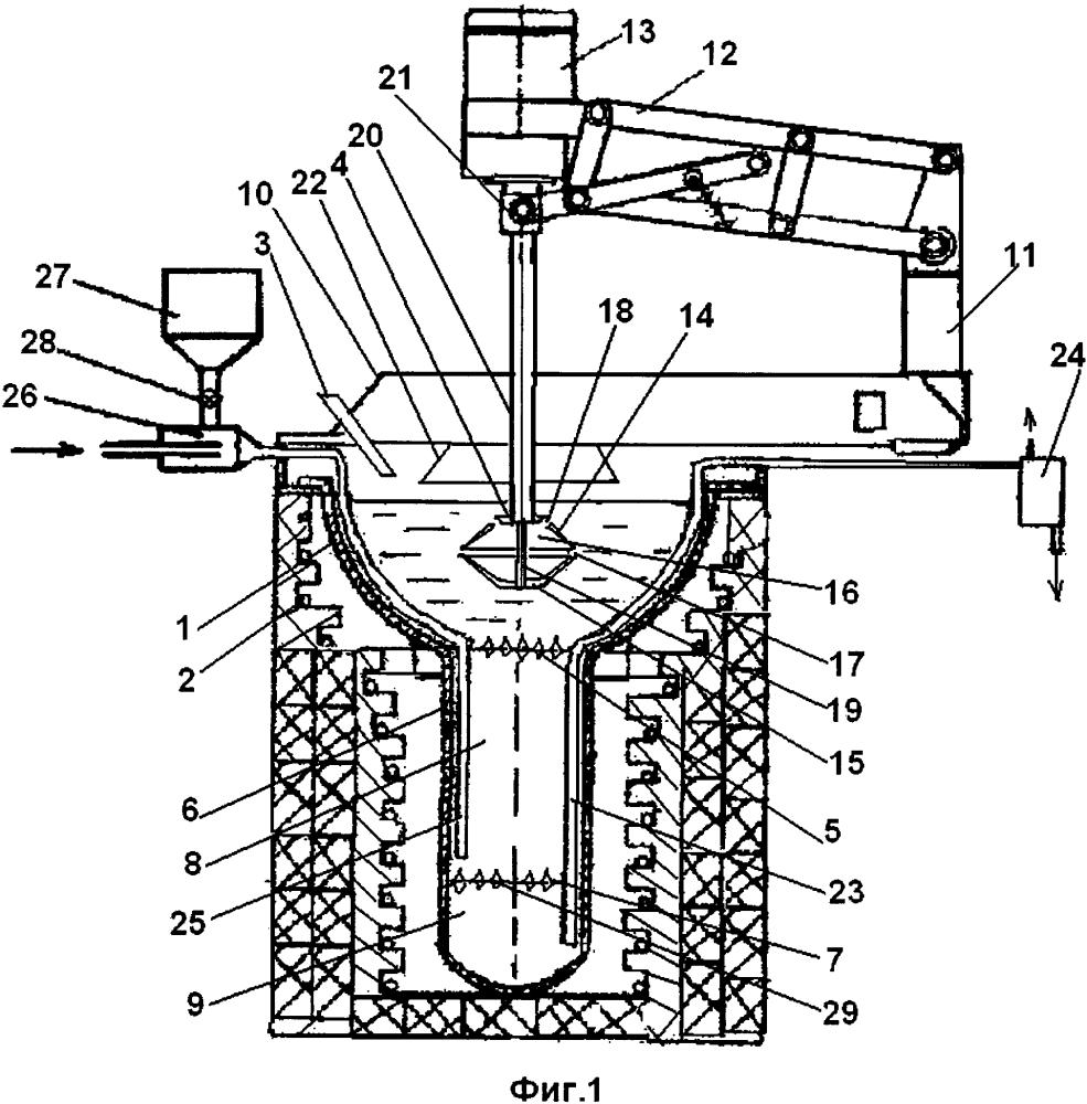 Способ рафинирования свинца от меди и центробежный аппарат его осуществления
