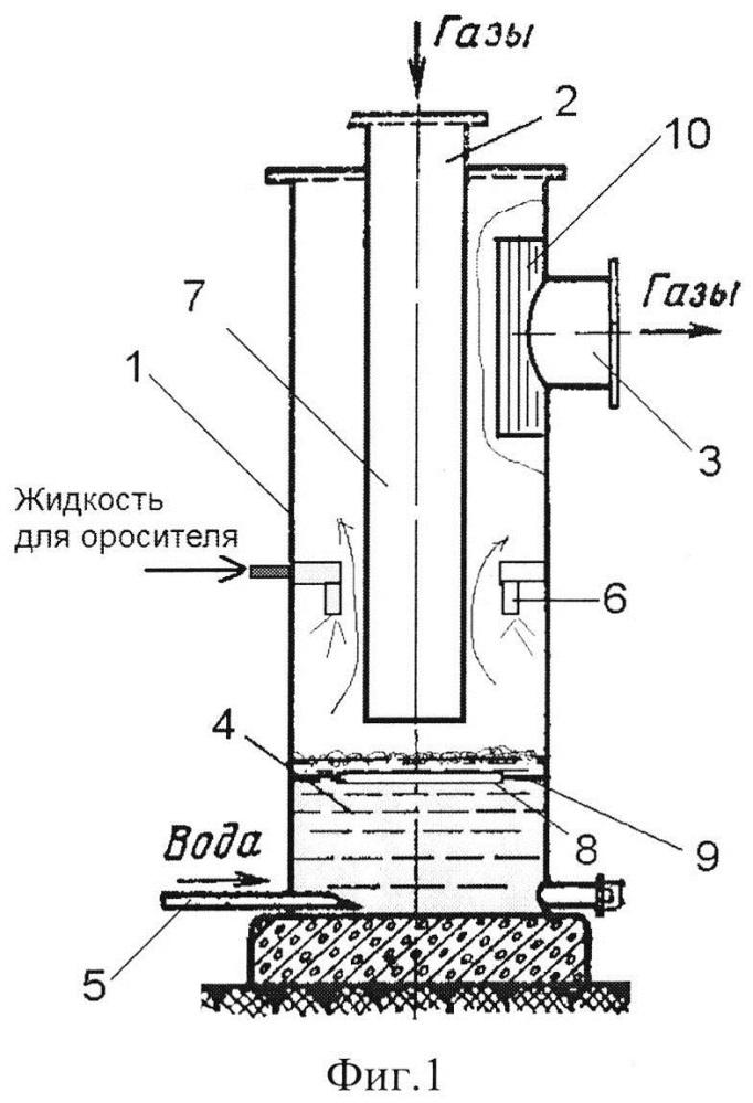 Устройство для очистки воздуха в виброкипящем слое жидкости