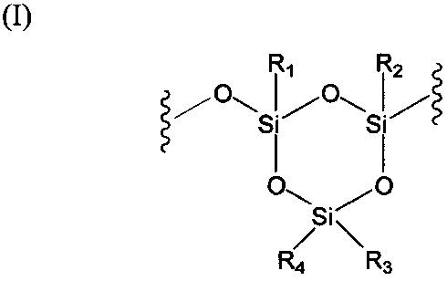 Сшитый силиконовый полимер и способ его получения