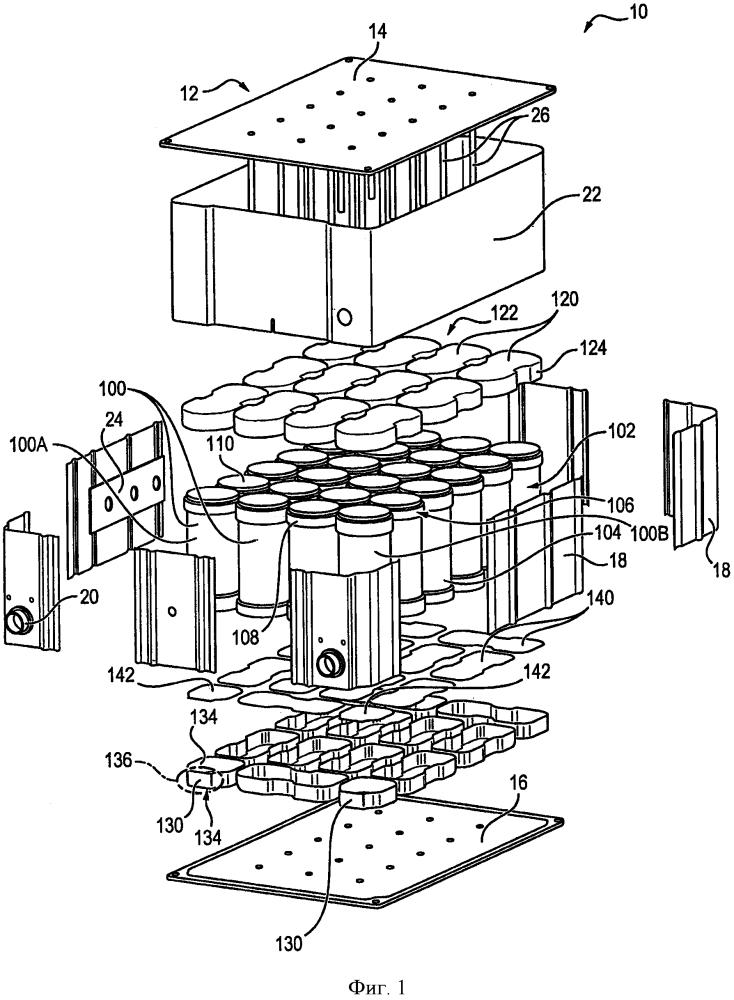 Модуль накопления энергии, содержащий множество устройств накопления энергии
