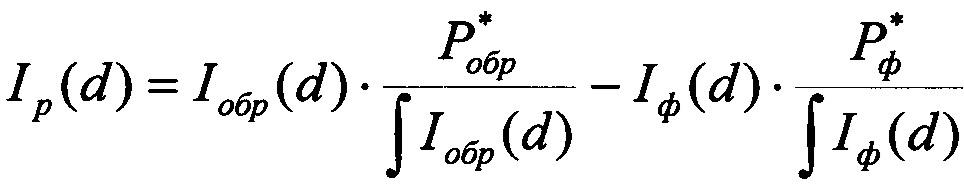 Способ определения размеров наночастиц, добавленных в исходный коллоидный раствор
