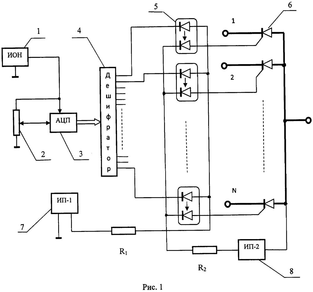 Тиристорный переключатель постоянного тока для электромобиля