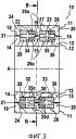 Магнитно-экранированный трехфазный вращающийся трансформатор, имеющий три магнитных сердечника