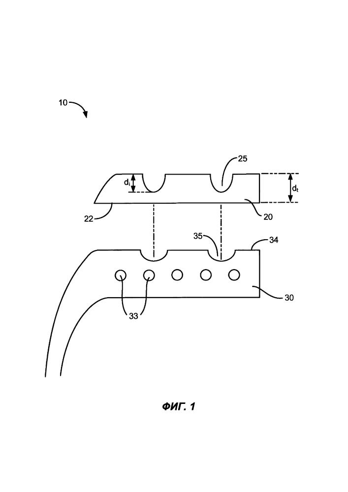 Системы и способы получения шин с восстановленным протектором с использованием протектора с плоской подложкой