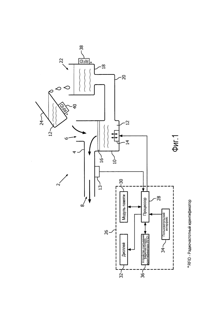 Устройство для использования с небулайзером и способ приведения в действие небулайзера