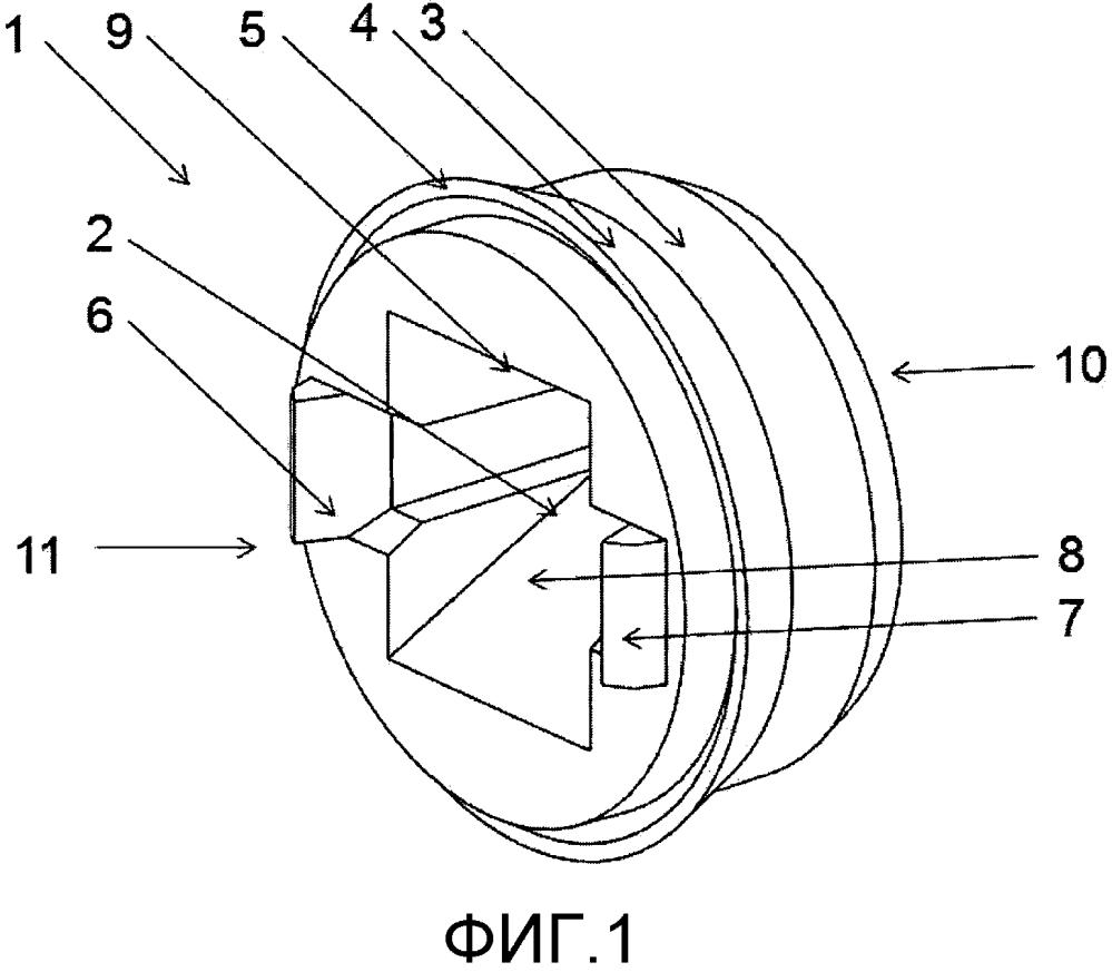 Крышка для канального датчика