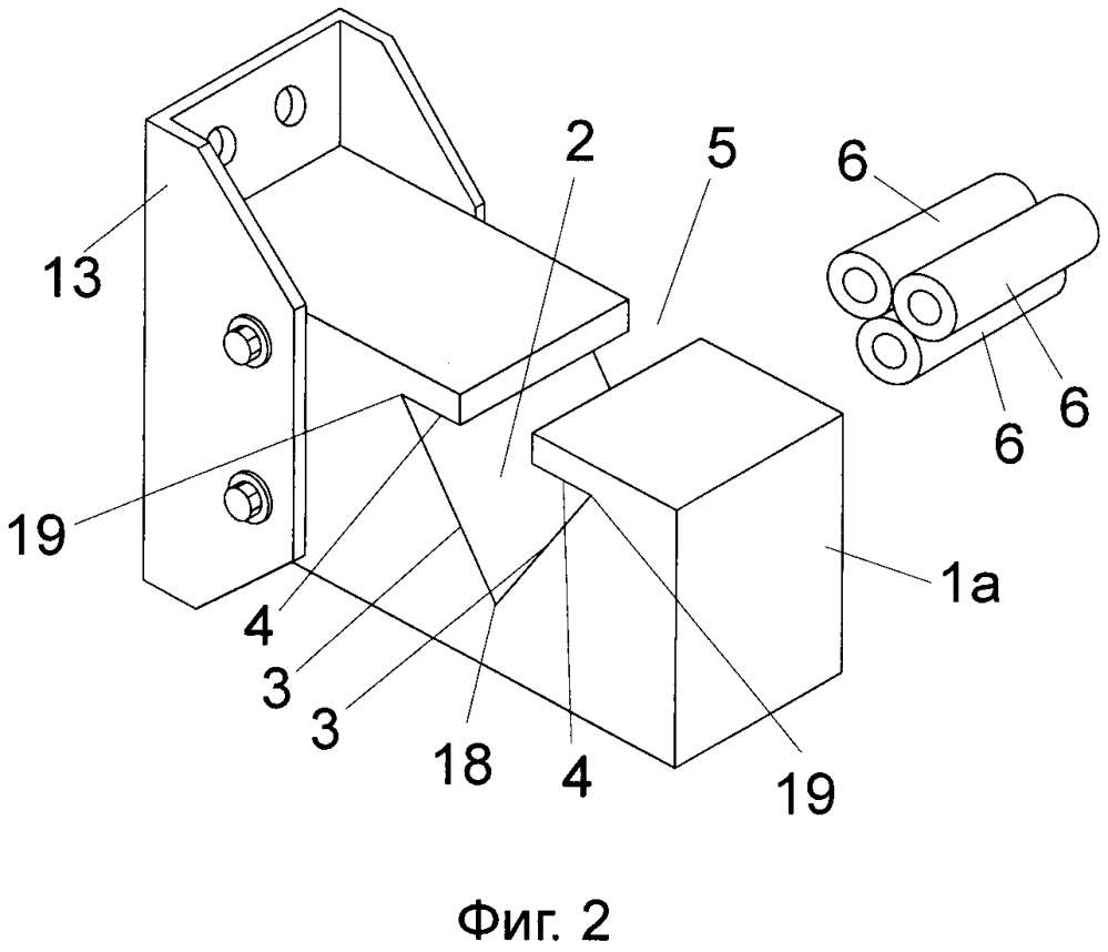 Способ закрепления кабелей и опорно-удерживающий элемент