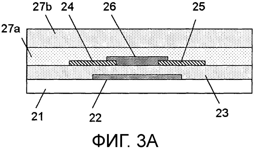 Полевой транзистор, элемент отображения, устройство отображения изображений и система