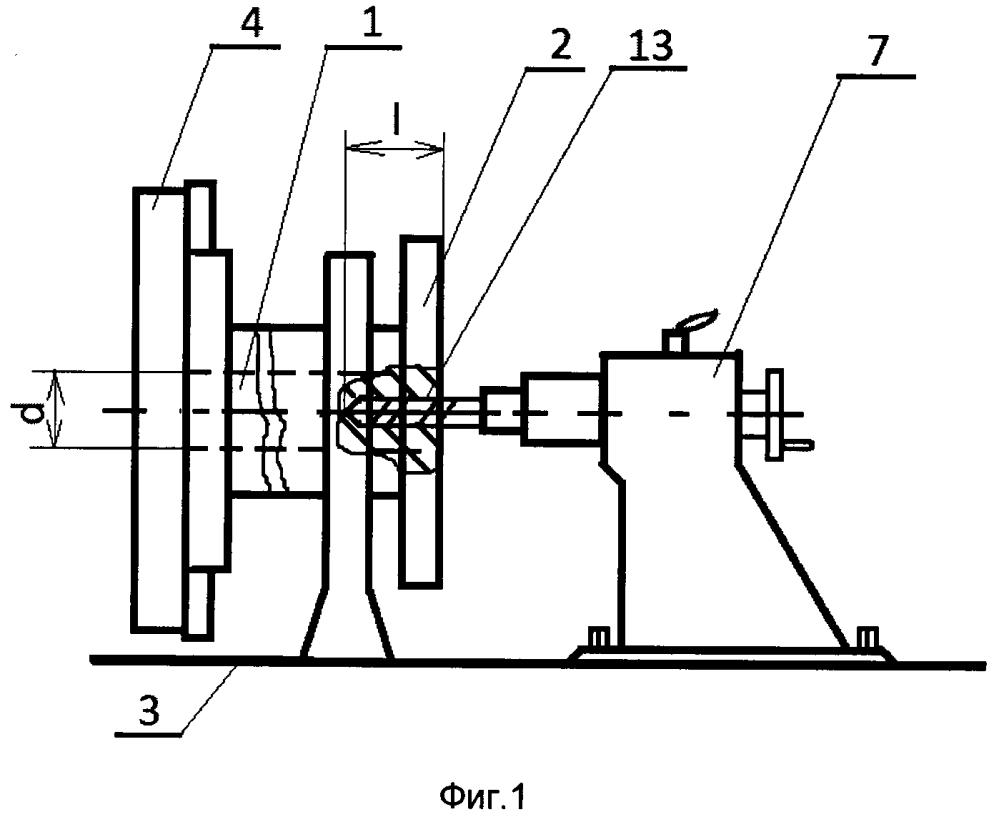 Способ сверления глубокого отверстия в заготовке на универсальном токарном станке