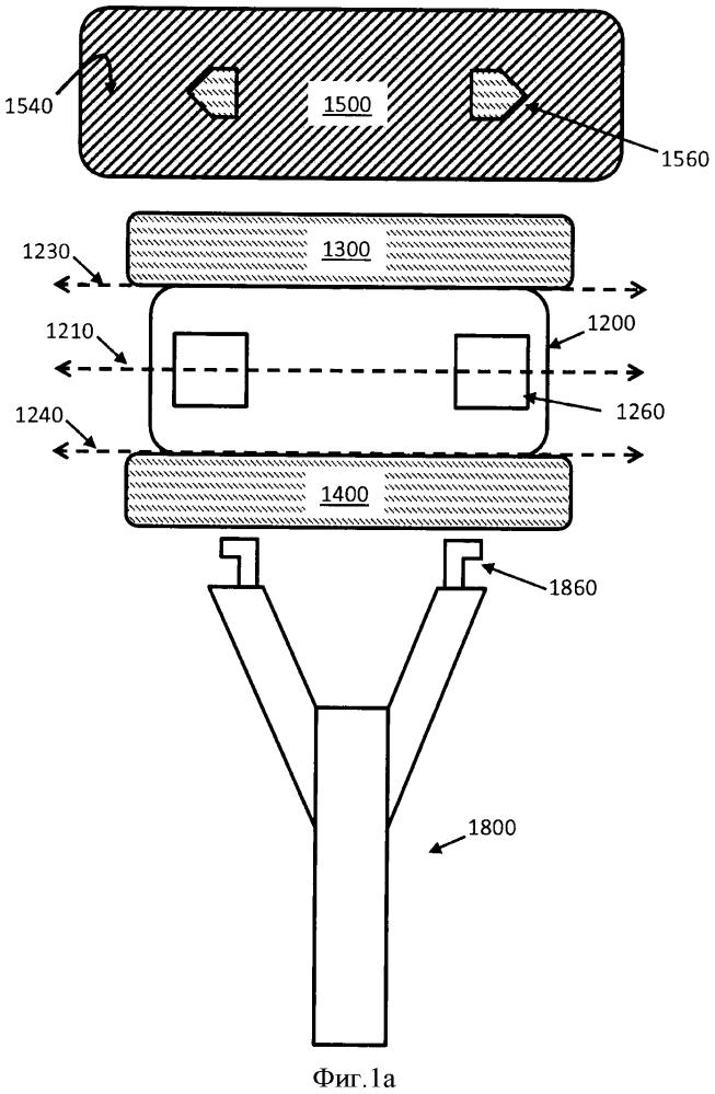 Компонент для размещения скользящего элемента для использования в бритвенном приборе