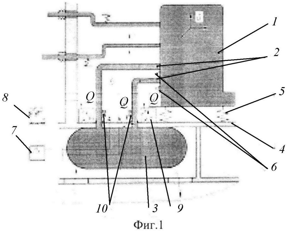 Система виброизоляции ядерного реактора подводной лодки