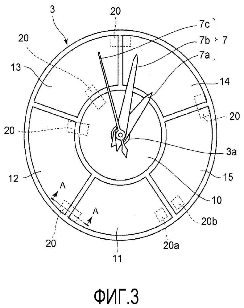 Солнечная панель и часы с солнечной панелью