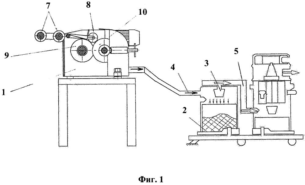 Устройство для мерной резки углеродного волокна