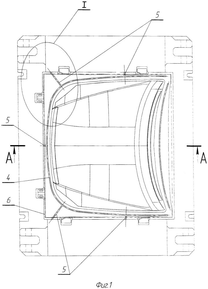 Штамп для вытяжки крупногабаритных деталей сложной формы