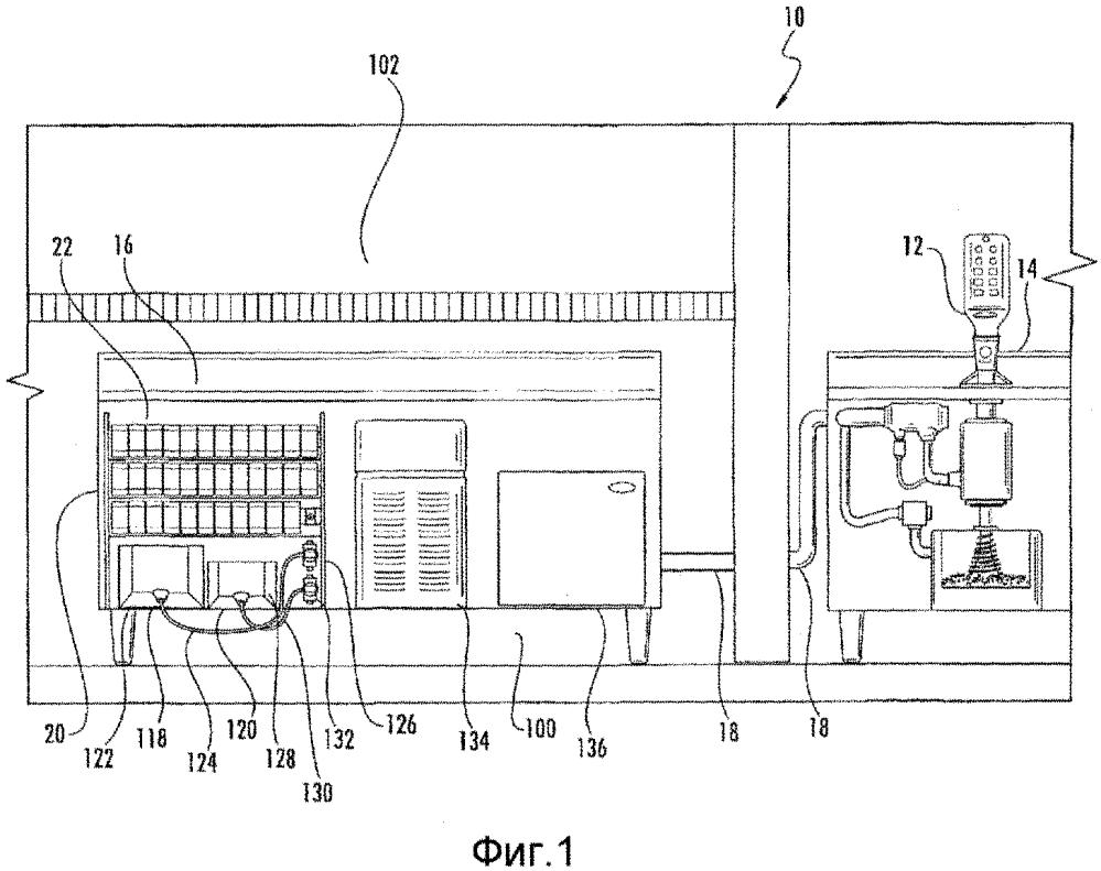 Многобашенная модульная система раздачи напитков и способ раздачи напитка